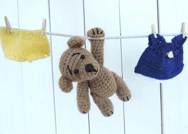 Уход за вязаными изделиями, игрушками и куклами ручной работы