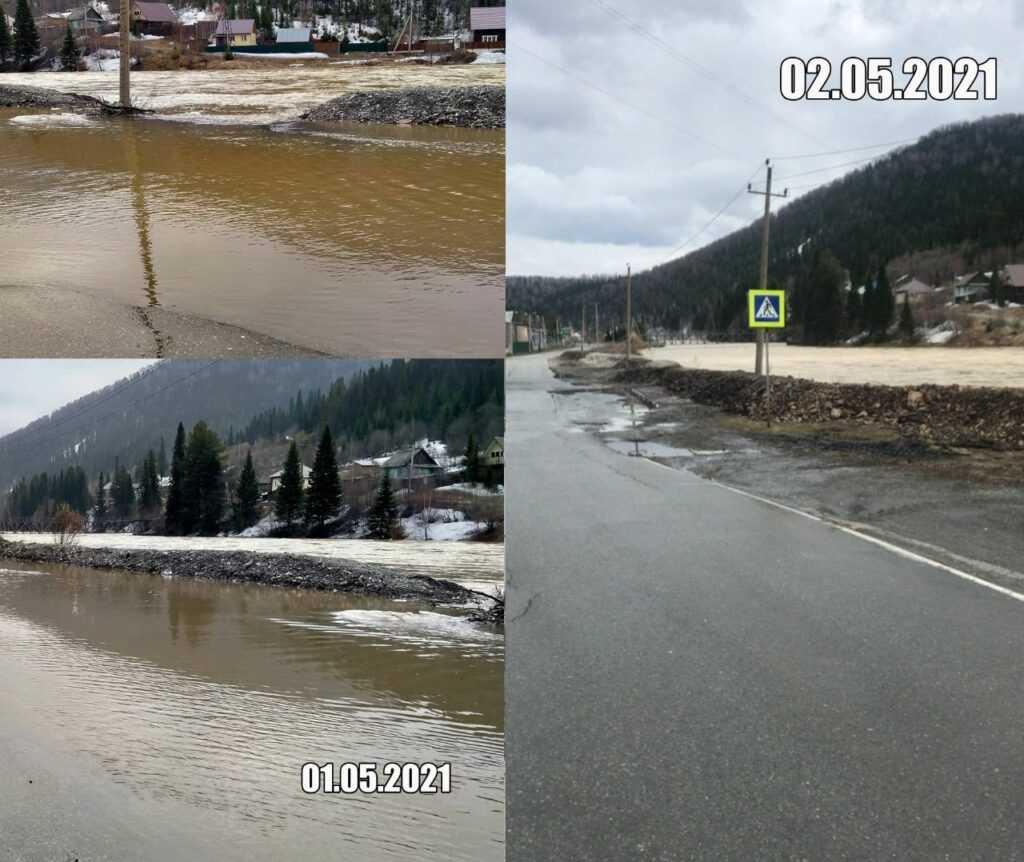 В Кузбассе замечены фейковые вбросы о паводке на юге региона