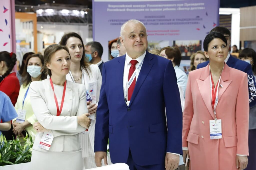 Сергей Цивилев: В Кузбассе создаются все условия для всестороннего развития, учёбы и отдыха детей