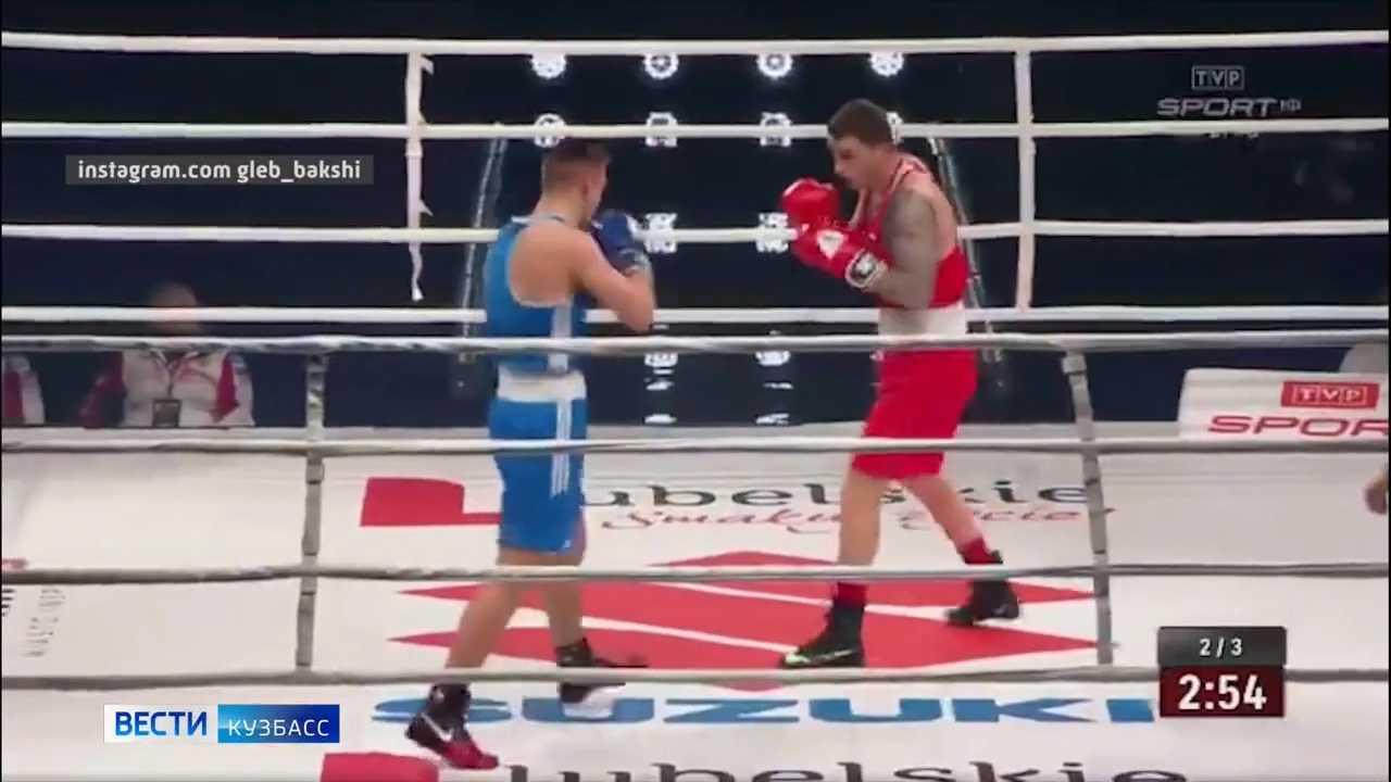 Представляющий Кузбасс боксёр Глеб Бакши одержал первую победу на Олимпиаде