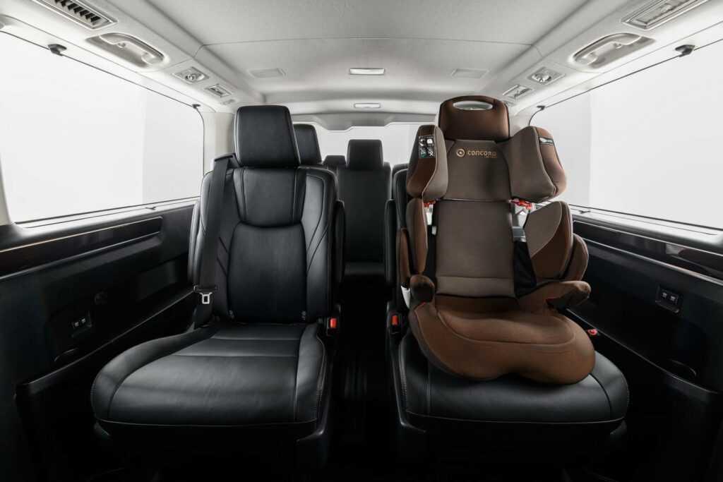 Обзор семейных автомобилей Toyota Alphard и Hiace