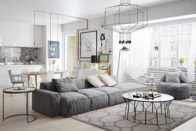 Мебель в скандинавском стиле: полезные советы по выбору
