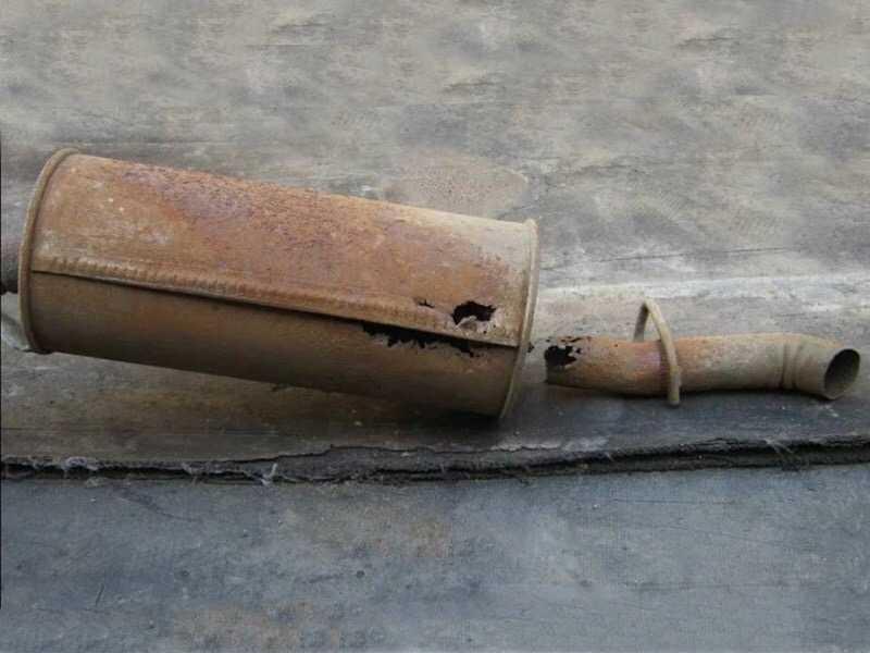 Почему ломается автомобильный глушитель – способы ремонта!