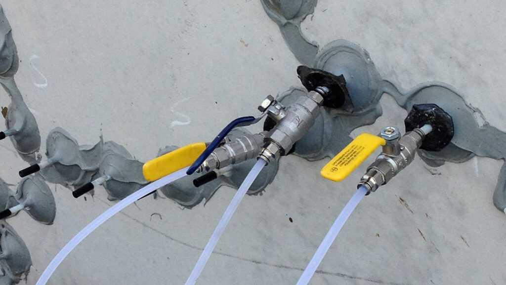 Инъектирование бетона от специалистов КТБ А-Строй
