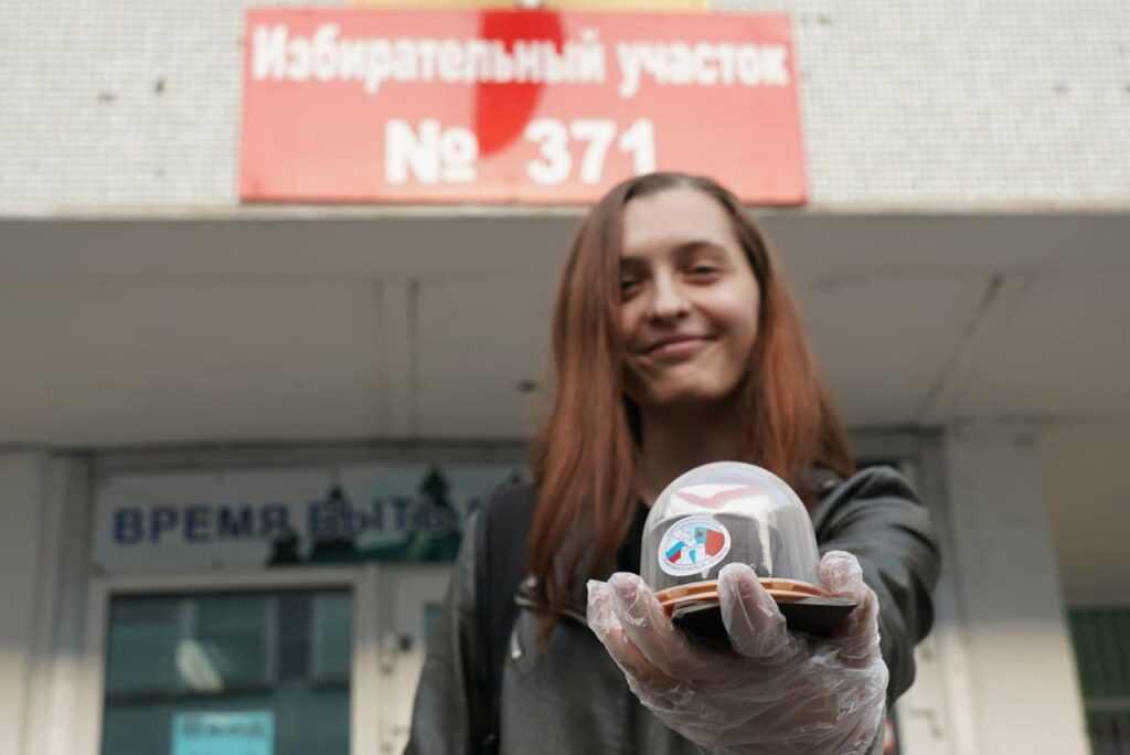 Угольщики и известные спортсмены проголосовали в Кузбассе