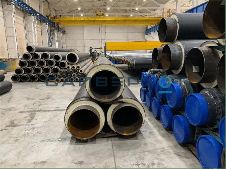Заводская изоляция труб. Преимущества использования готовых труб