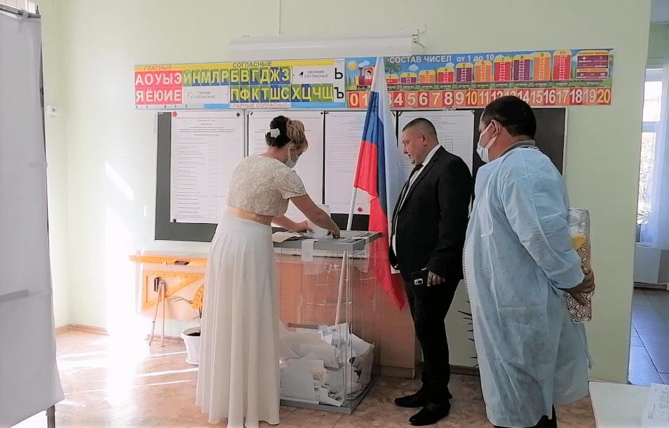 100-летняя участница войны проголосовала на выборах в Кузбассе