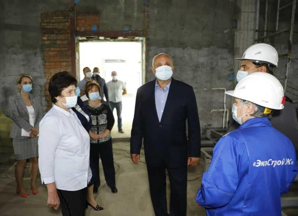 Сергей Цивилев оценил темпы и перспективы развития посёлка Трудармейский Прокопьевского округа